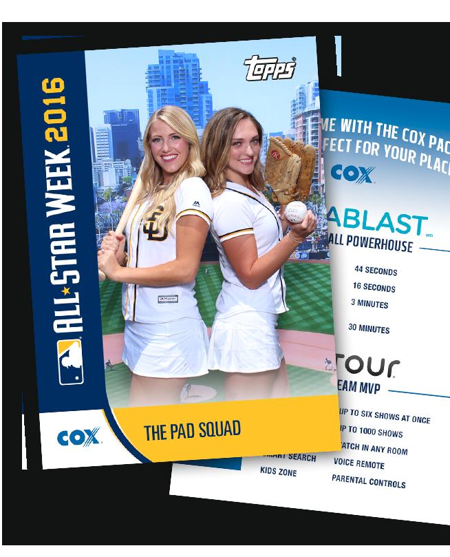 custom trading cards MLB all-stars