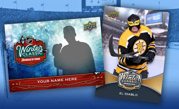 Ten years of making Winter Classic trading cards